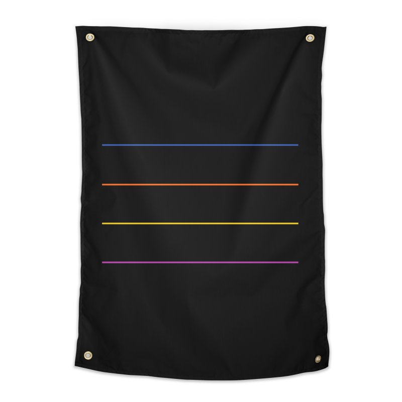 The Question Bus: No Text Logo Home Tapestry by Keir Miron's Artist Shop