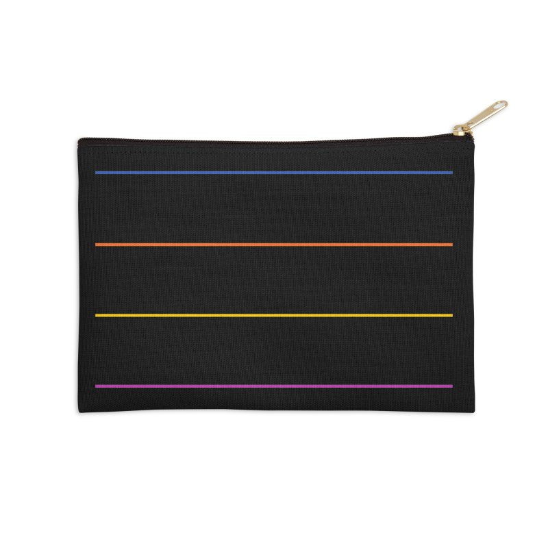 The Question Bus: No Text Logo Accessories Zip Pouch by Keir Miron's Artist Shop