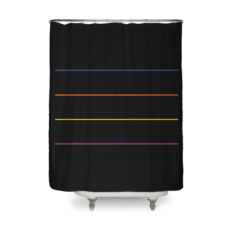 The Question Bus: No Text Logo Home Shower Curtain by Keir Miron's Artist Shop
