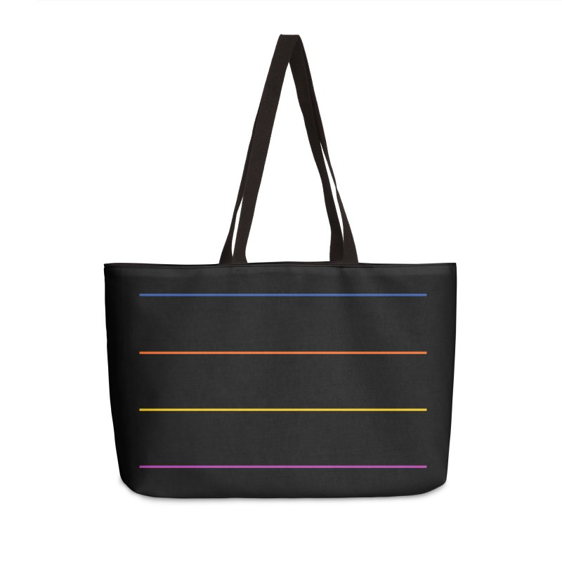 The Question Bus: No Text Logo Accessories Weekender Bag Bag by Keir Miron's Artist Shop
