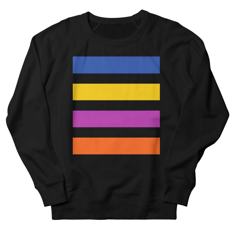 The Question Bus: No Text Logo Thick in Men's French Terry Sweatshirt Black by Keir Miron's Artist Shop