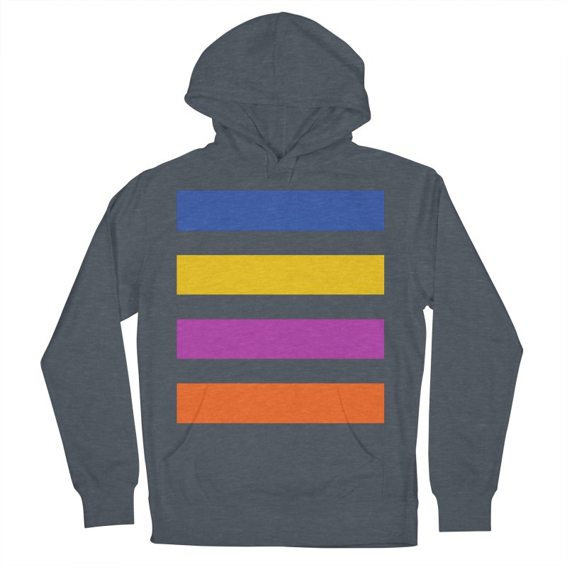 The Question Bus: No Text Logo Thick Men's French Terry Pullover Hoody by Keir Miron's Artist Shop