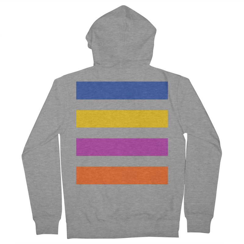 The Question Bus: No Text Logo Thick Men's Zip-Up Hoody by Keir Miron's Artist Shop