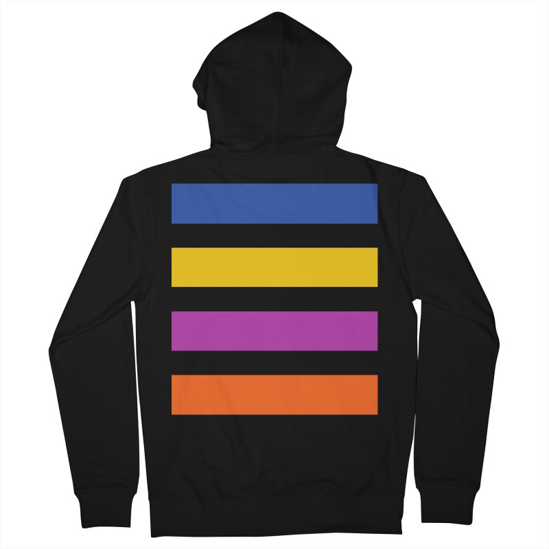 The Question Bus: No Text Logo Thick Men's French Terry Zip-Up Hoody by Keir Miron's Artist Shop