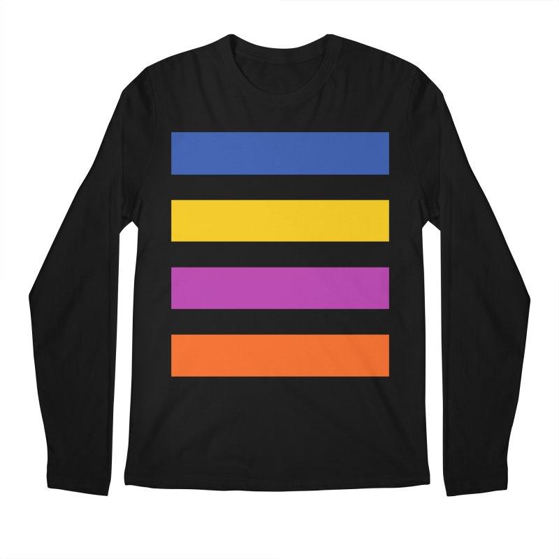 The Question Bus: No Text Logo Thick Men's Regular Longsleeve T-Shirt by Keir Miron's Artist Shop