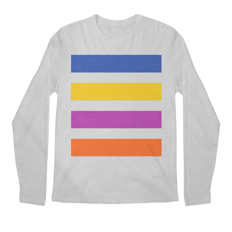 The Question Bus: No Text Logo Thick Men's Longsleeve T-Shirt by Keir Miron's Artist Shop