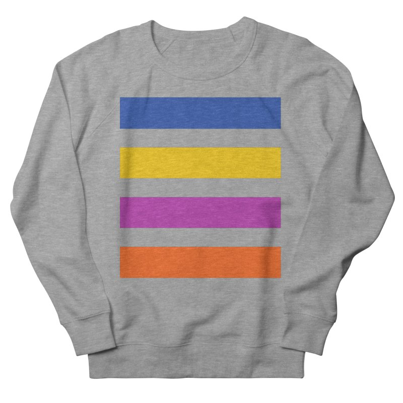 The Question Bus: No Text Logo Thick Men's French Terry Sweatshirt by Keir Miron's Artist Shop