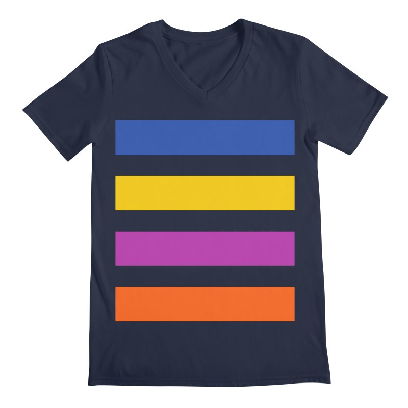 The Question Bus: No Text Logo Thick Men's V-Neck by Keir Miron's Artist Shop