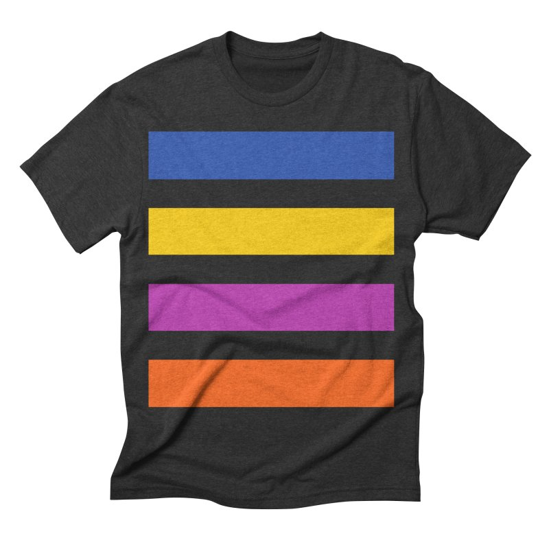 The Question Bus: No Text Logo Thick Men's Triblend T-shirt by Keir Miron's Artist Shop