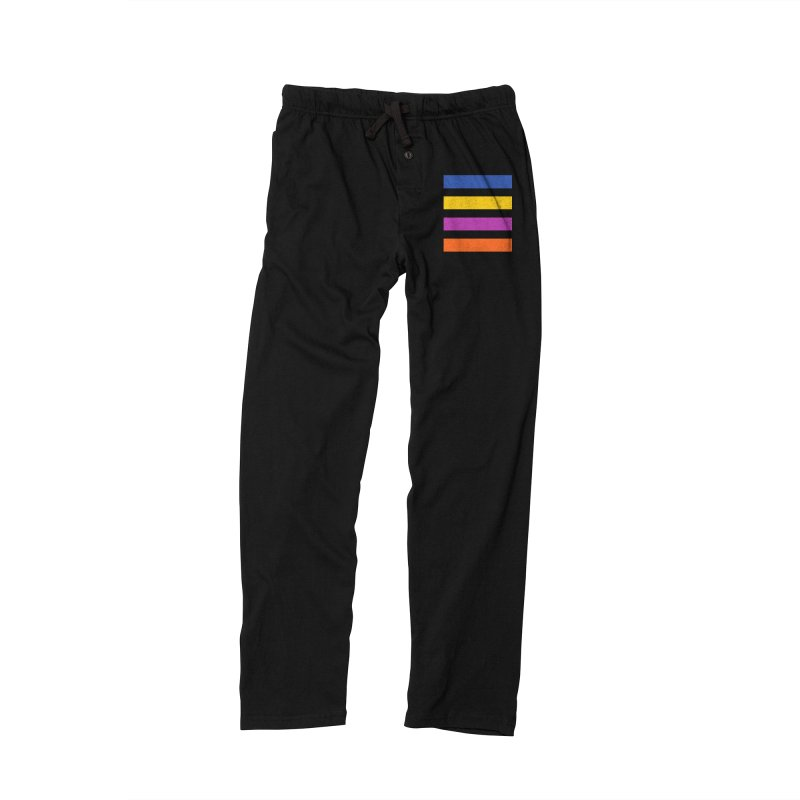The Question Bus: No Text Logo Thick Men's Lounge Pants by Keir Miron's Artist Shop