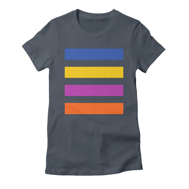 The Question Bus: No Text Logo Thick Women's T-Shirt by Keir Miron's Artist Shop