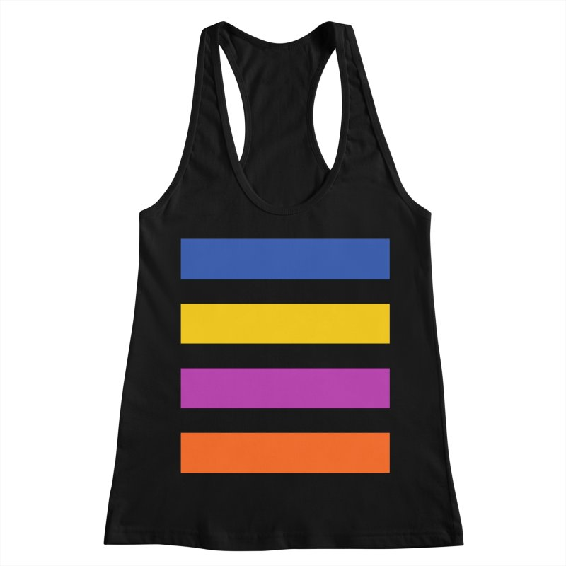 The Question Bus: No Text Logo Thick Women's Racerback Tank by Keir Miron's Artist Shop