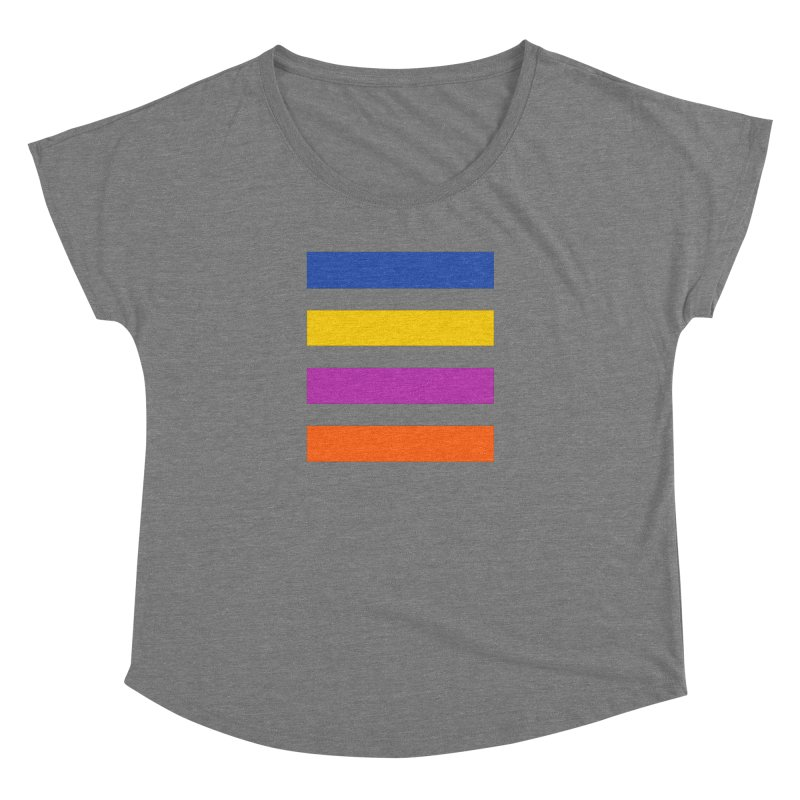 The Question Bus: No Text Logo Thick Women's Scoop Neck by Keir Miron's Artist Shop
