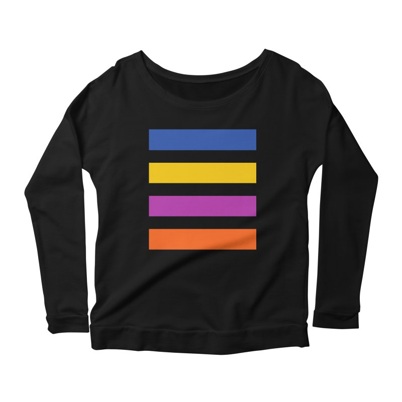 The Question Bus: No Text Logo Thick Women's Longsleeve Scoopneck  by Keir Miron's Artist Shop
