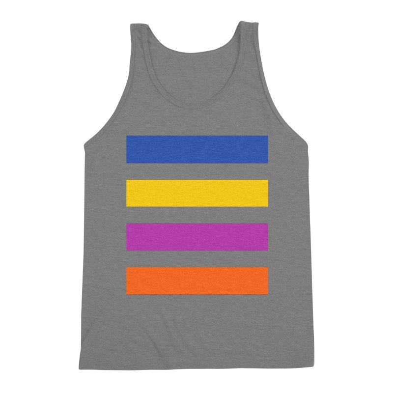 The Question Bus: No Text Logo Thick Men's Triblend Tank by Keir Miron's Artist Shop