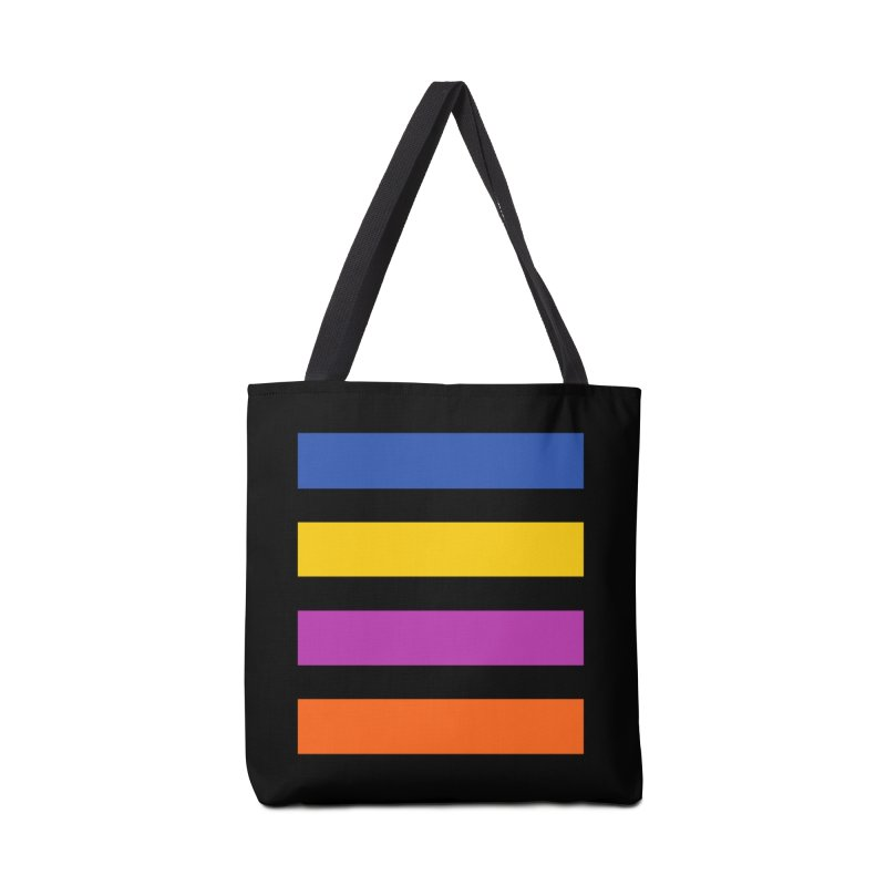 The Question Bus: No Text Logo Thick Accessories Bag by Keir Miron's Artist Shop