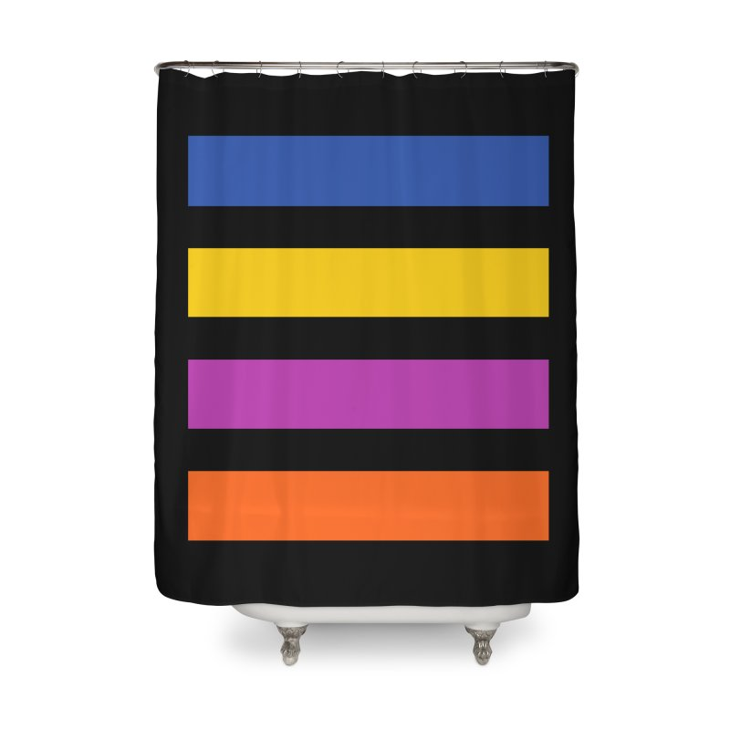 The Question Bus: No Text Logo Thick Home Shower Curtain by Keir Miron's Artist Shop