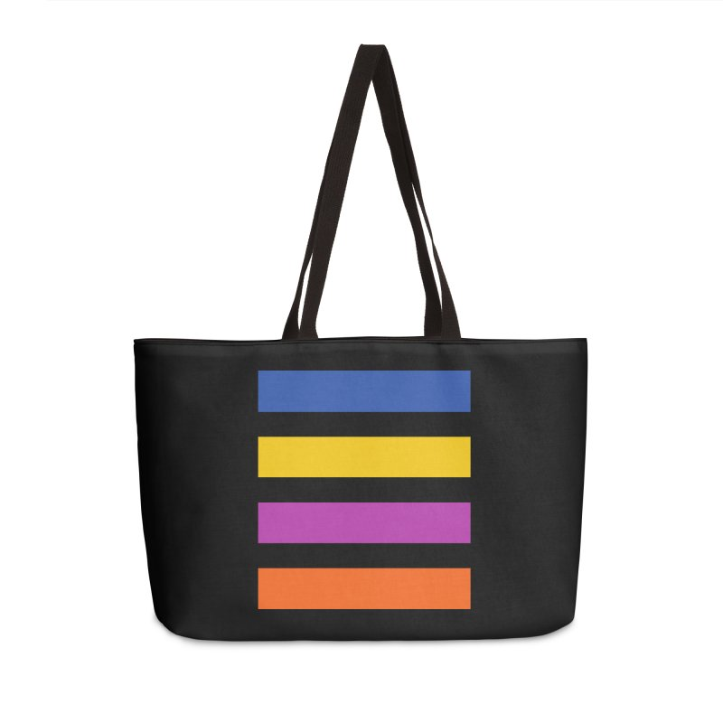 The Question Bus: No Text Logo Thick Accessories Weekender Bag Bag by Keir Miron's Artist Shop