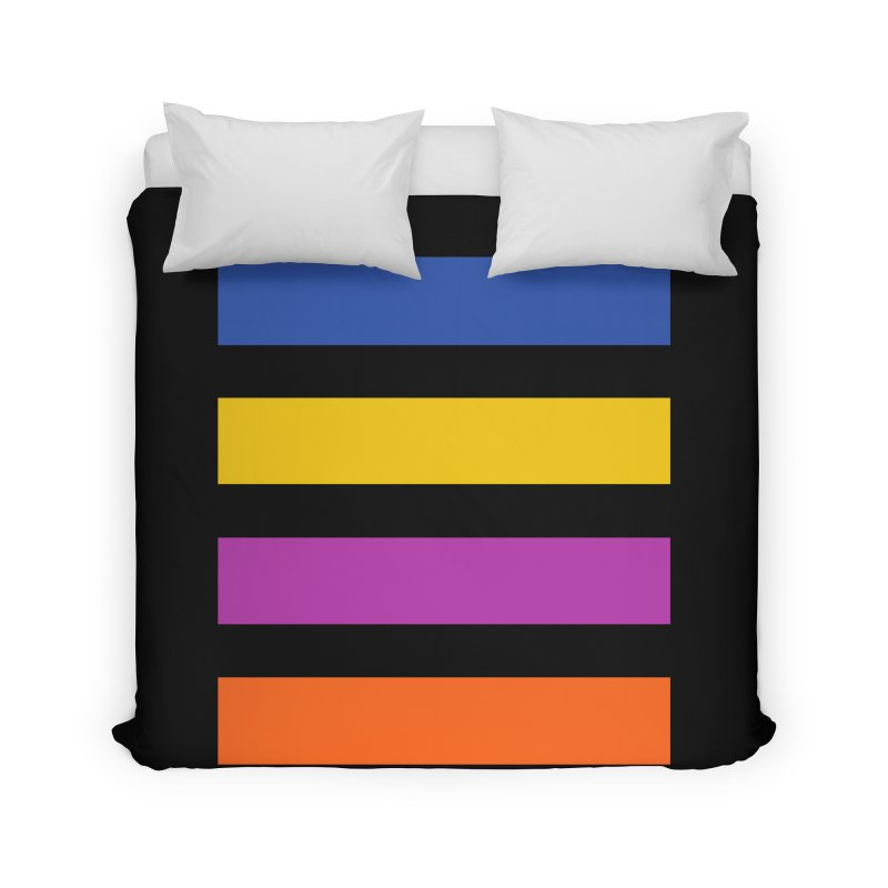 The Question Bus: No Text Logo Thick Home Duvet by Keir Miron's Artist Shop