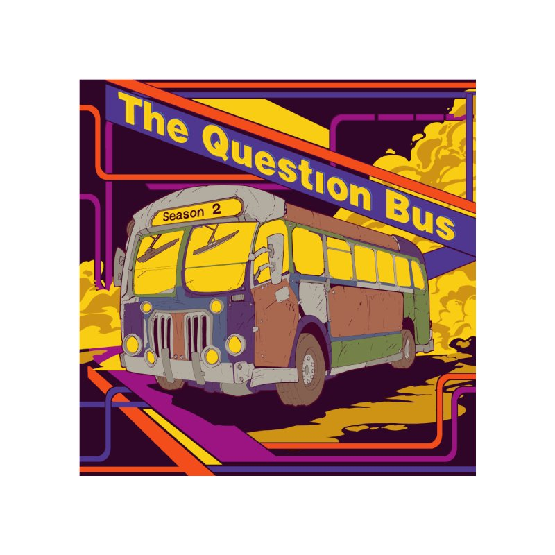 The Question Bus Season 2: Logo Men's Sweatshirt by Keir Miron's Artist Shop