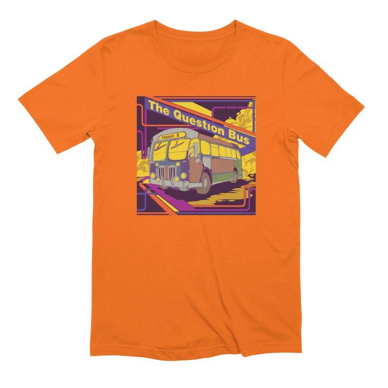 The Question Bus Season 2: Logo Men's Extra Soft T-Shirt by Keir Miron's Artist Shop