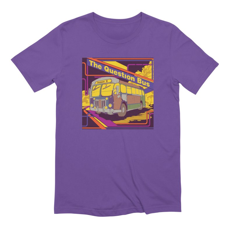 The Question Bus Season 2: Logo Men's Extra Soft T-Shirt by Keir Miron's Artist Shop
