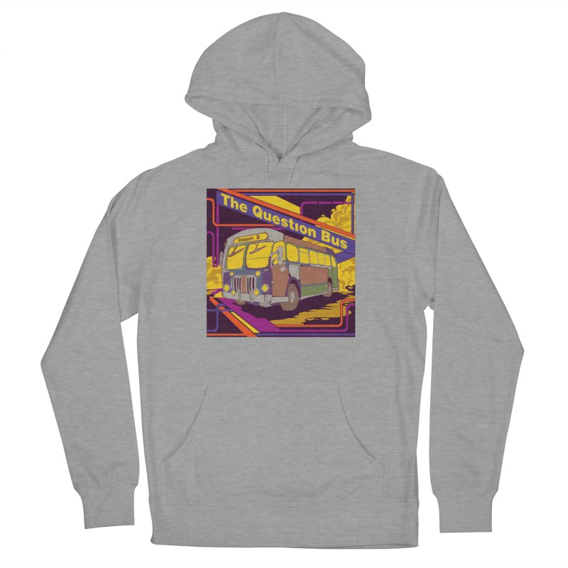 The Question Bus Season 2: Logo Women's French Terry Pullover Hoody by Keir Miron's Artist Shop