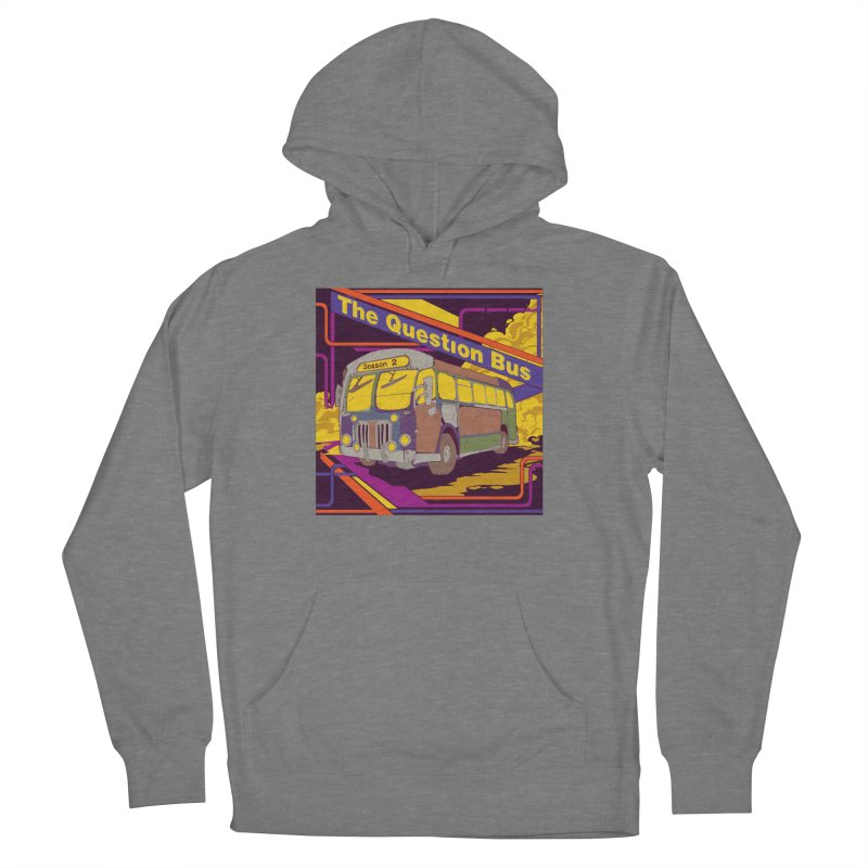 The Question Bus Season 2: Logo Men's French Terry Pullover Hoody by Keir Miron's Artist Shop