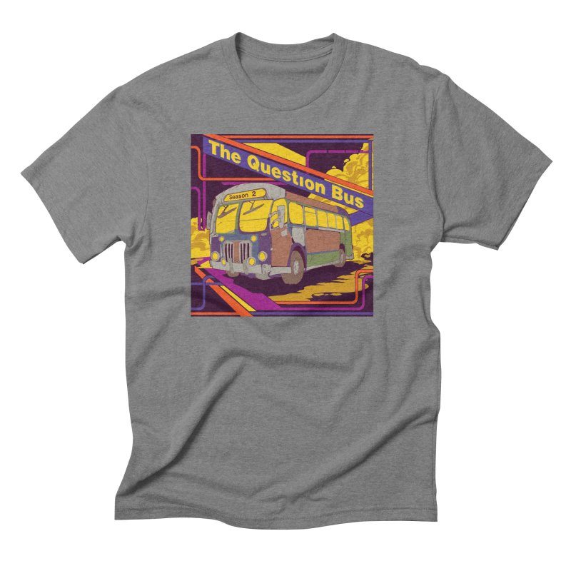 The Question Bus Season 2: Logo Men's Triblend T-shirt by Keir Miron's Artist Shop