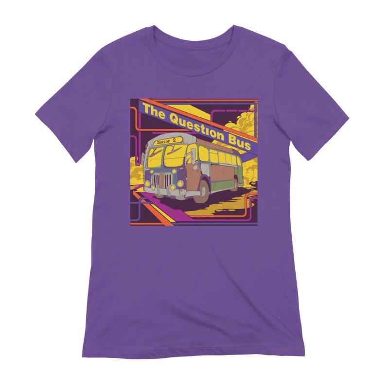 The Question Bus Season 2: Logo Women's T-Shirt by Keir Miron's Artist Shop