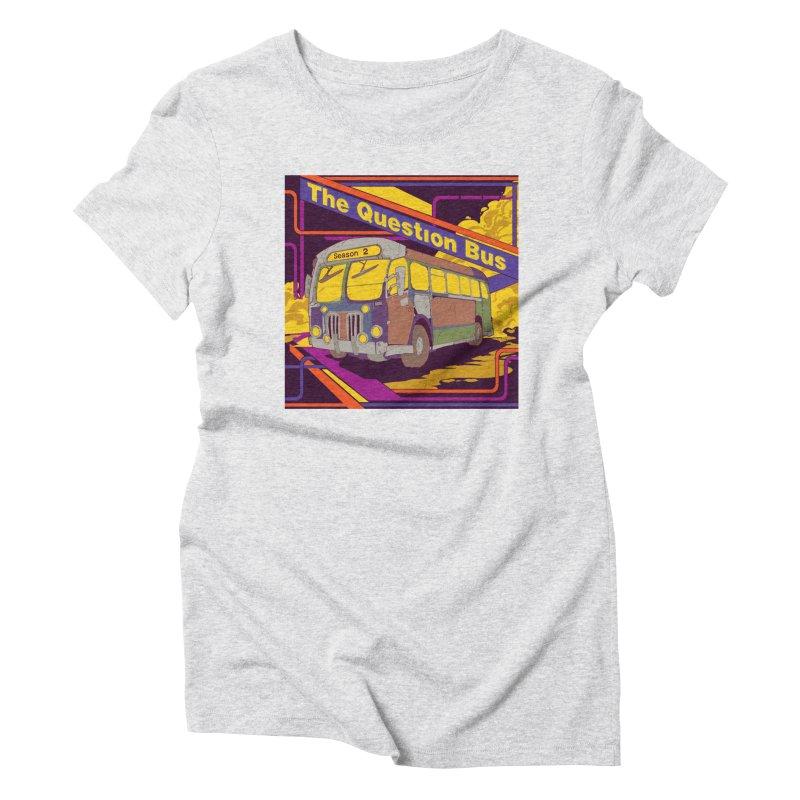The Question Bus Season 2: Logo Women's Triblend T-Shirt by Keir Miron's Artist Shop
