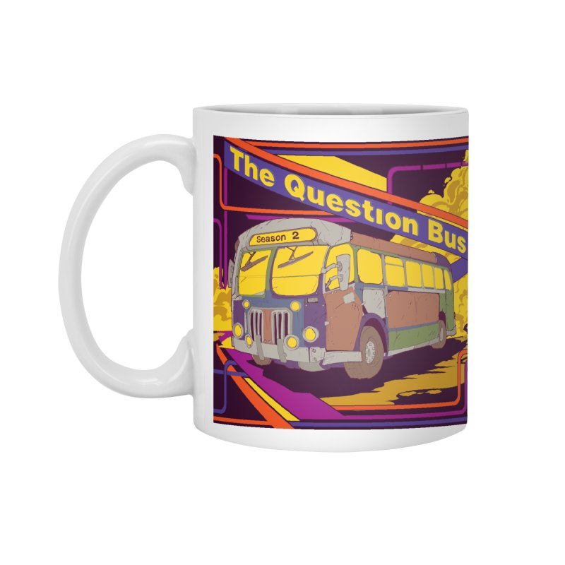 The Question Bus Season 2: Logo Accessories Mug by Keir Miron's Artist Shop
