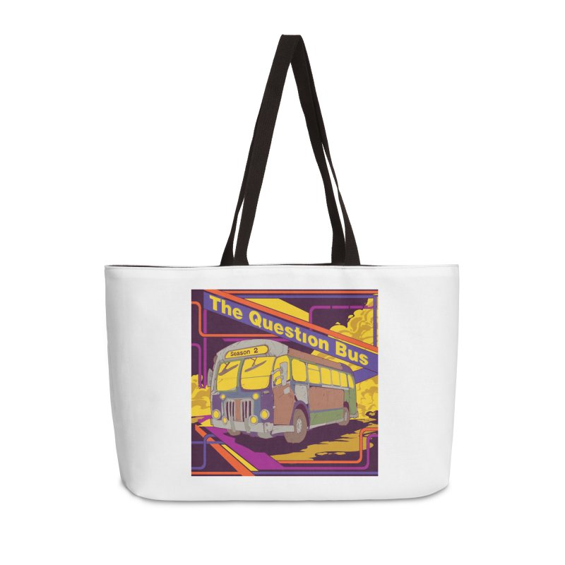 The Question Bus Season 2: Logo Accessories Weekender Bag Bag by Keir Miron's Artist Shop