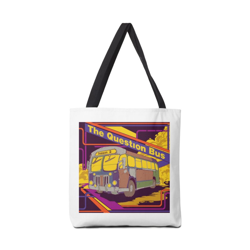 The Question Bus Season 2: Logo Accessories Tote Bag Bag by Keir Miron's Artist Shop