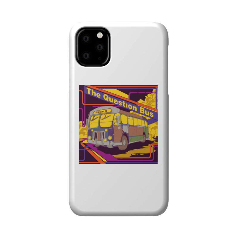 The Question Bus Season 2: Logo Accessories Phone Case by Keir Miron's Artist Shop