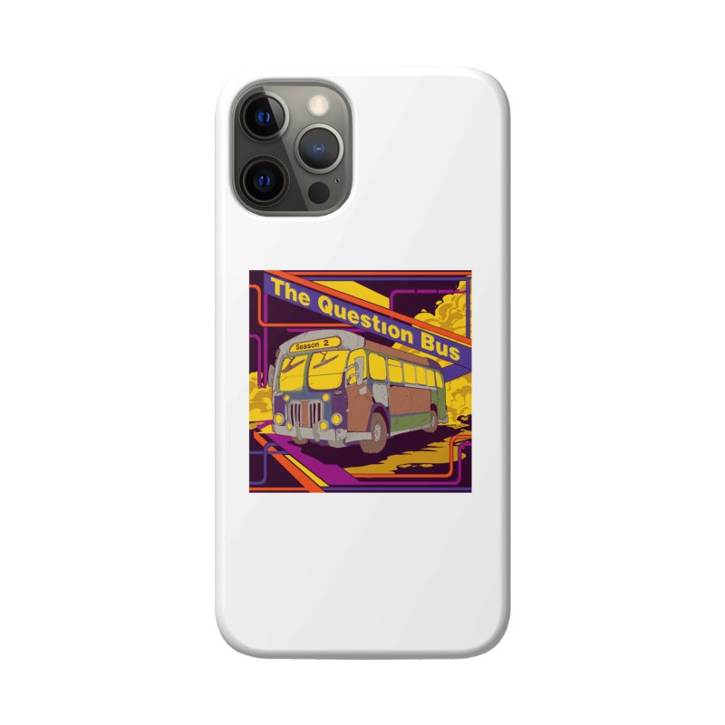 The Question Bus Season 2: Logo Accessories Phone Case by Keir Miron's Artist Shop