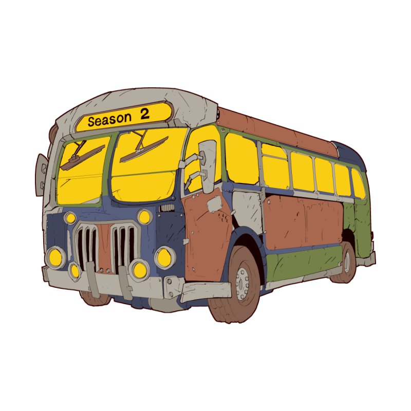 The Question Bus Season Two: Logo Bus by Keir Miron's Artist Shop