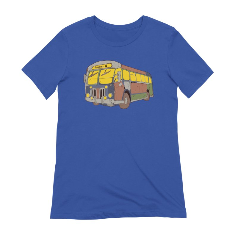 The Question Bus Season Two: Logo Bus Women's T-Shirt by Keir Miron's Artist Shop