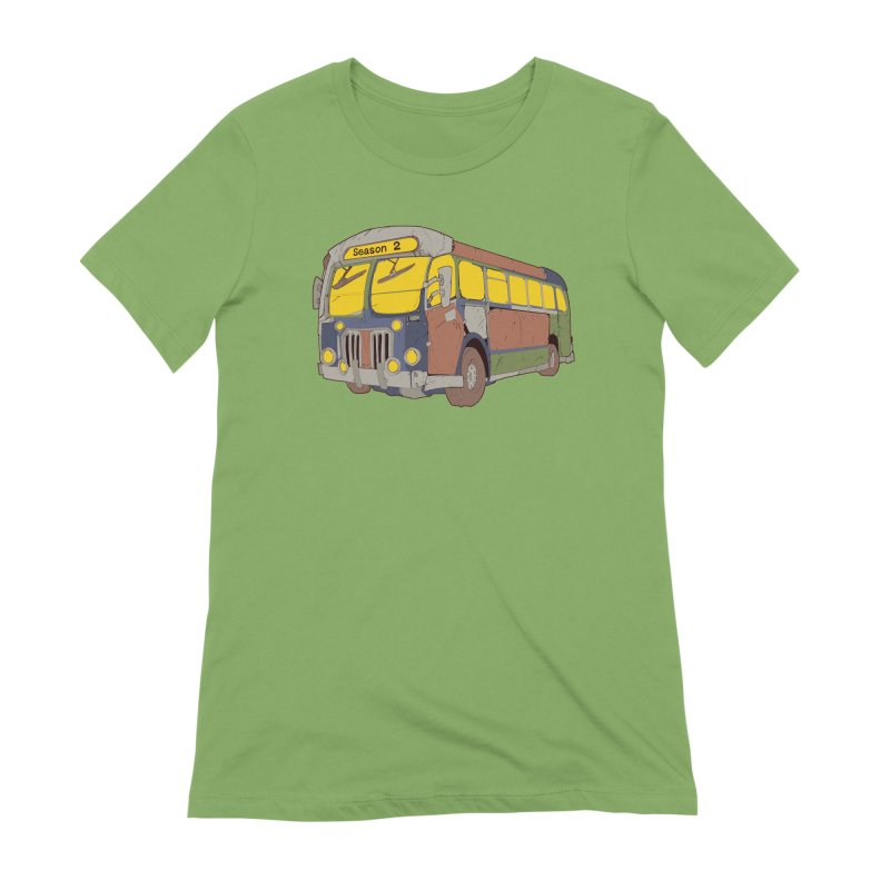 The Question Bus Season Two: Logo Bus Women's Extra Soft T-Shirt by Keir Miron's Artist Shop