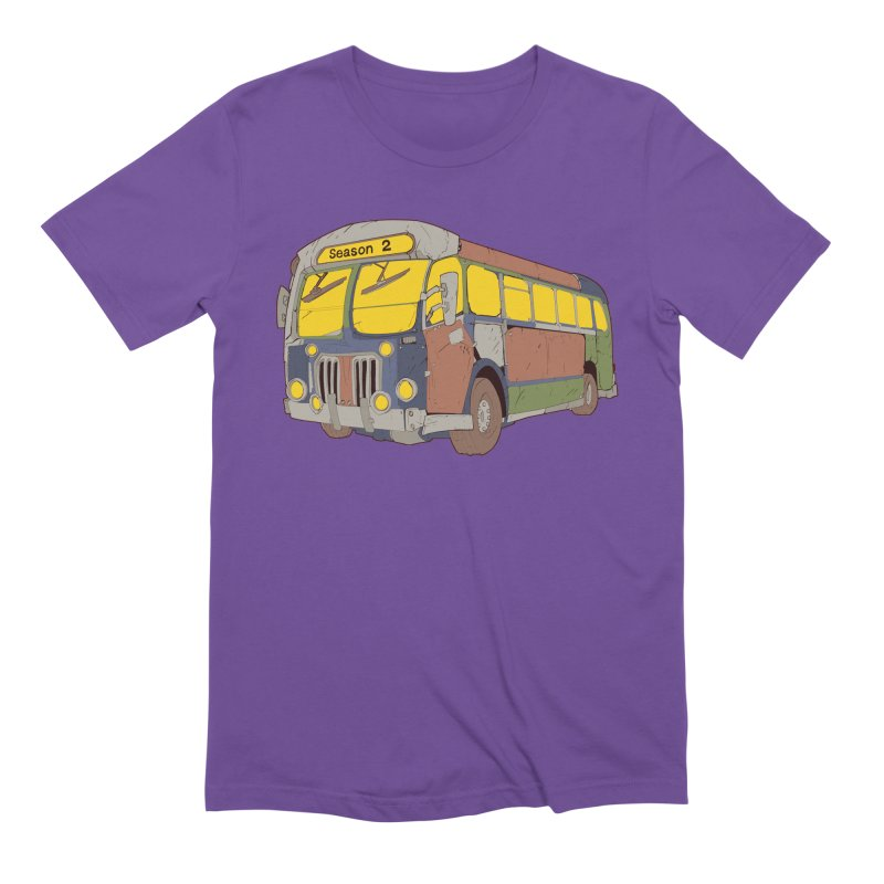 The Question Bus Season Two: Logo Bus Men's T-Shirt by Keir Miron's Artist Shop