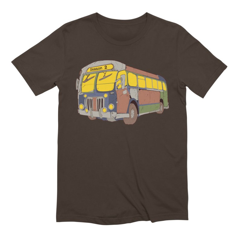 The Question Bus Season Two: Logo Bus Men's Extra Soft T-Shirt by Keir Miron's Artist Shop