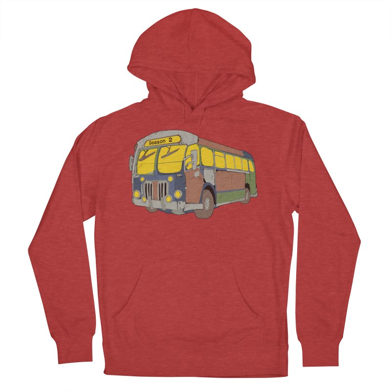 The Question Bus Season Two: Logo Bus Women's Pullover Hoody by Keir Miron's Artist Shop