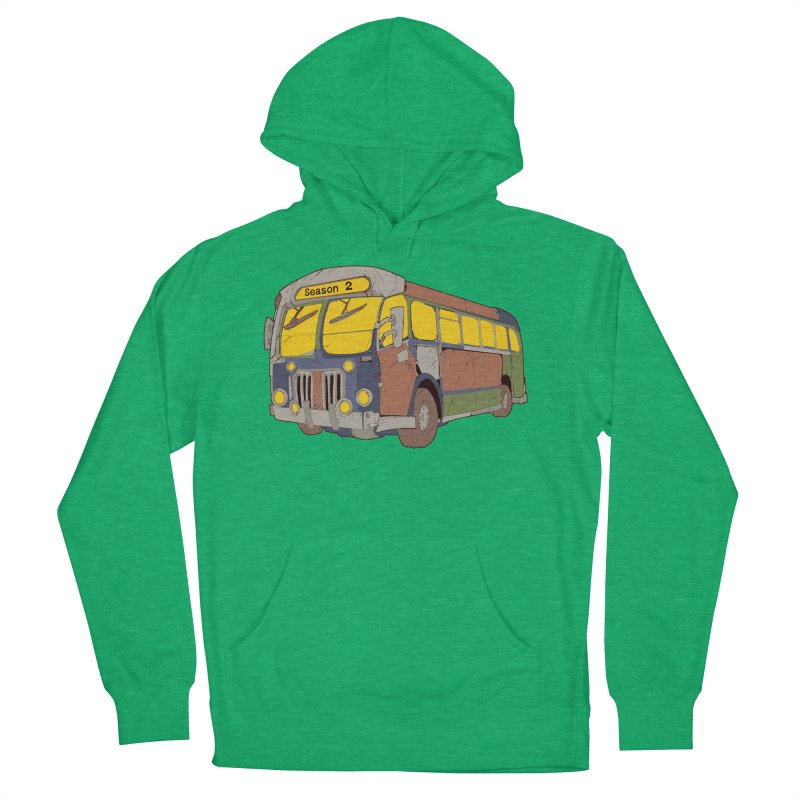 The Question Bus Season Two: Logo Bus Men's French Terry Pullover Hoody by Keir Miron's Artist Shop