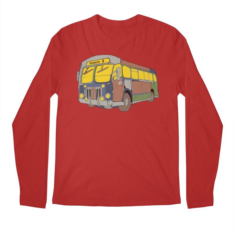 The Question Bus Season Two: Logo Bus Men's Longsleeve T-Shirt by Keir Miron's Artist Shop
