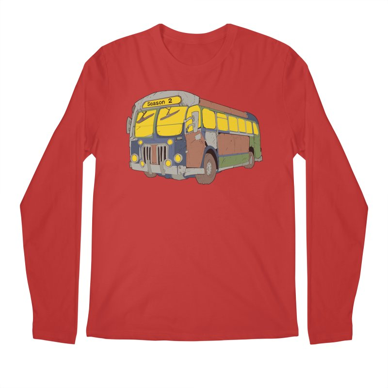 The Question Bus Season Two: Logo Bus Men's Longsleeve T-Shirt by Keir Miron's Artist Shop