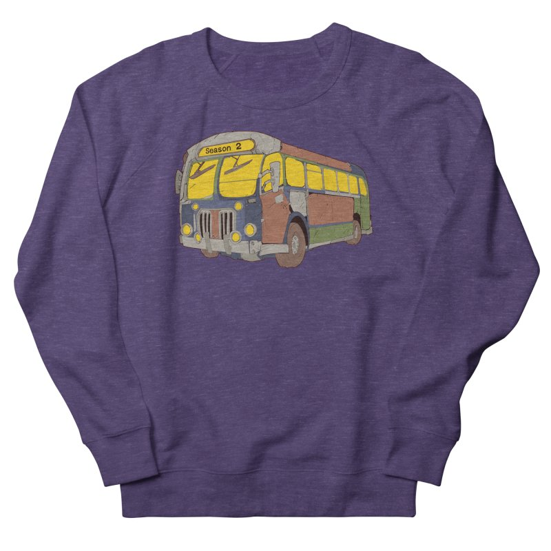 The Question Bus Season Two: Logo Bus Men's French Terry Sweatshirt by Keir Miron's Artist Shop