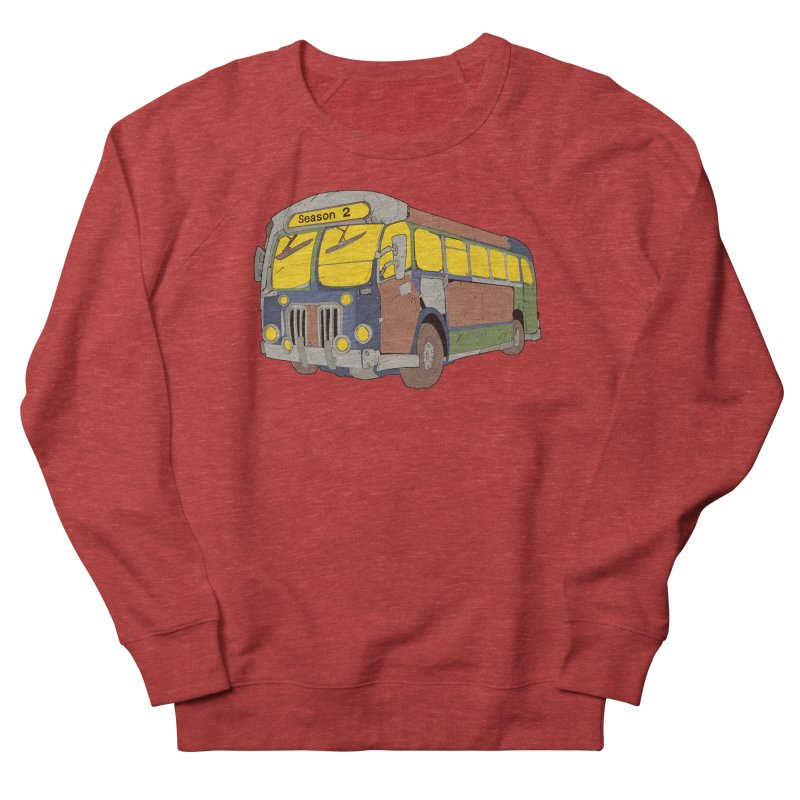 The Question Bus Season Two: Logo Bus Men's Sweatshirt by Keir Miron's Artist Shop