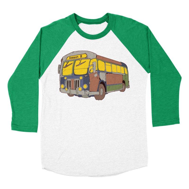 The Question Bus Season Two: Logo Bus Women's Baseball Triblend T-Shirt by Keir Miron's Artist Shop