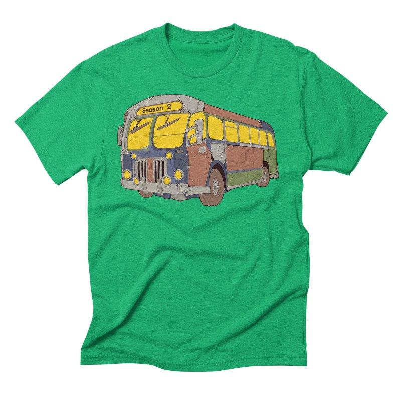 The Question Bus Season Two: Logo Bus Men's Triblend T-shirt by Keir Miron's Artist Shop