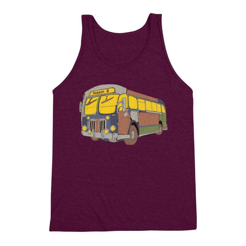 The Question Bus Season Two: Logo Bus Men's Tank by Keir Miron's Artist Shop